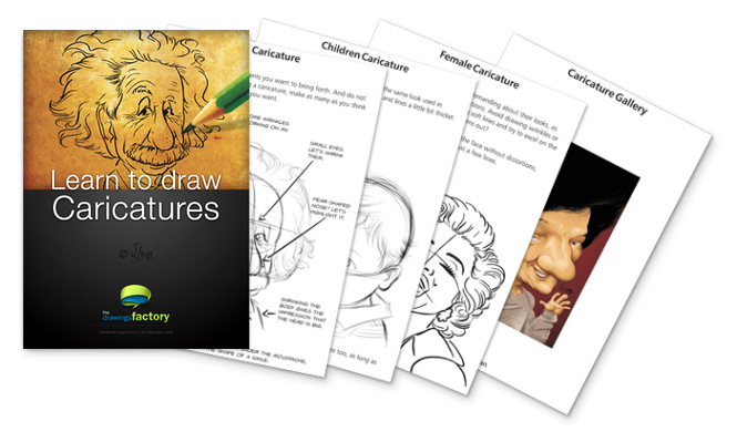 Ebook Caricatures English